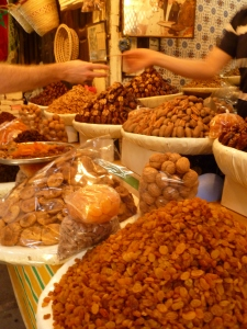 Dried fruits in Fez