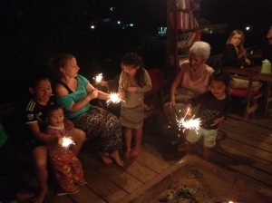 New Years at Daauw Home in Huay Xai